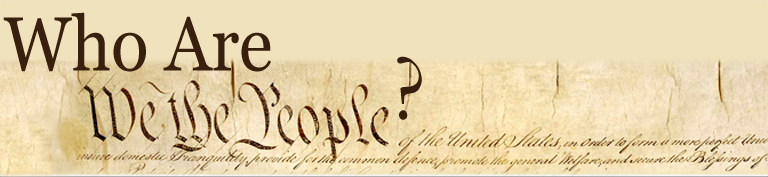 We the People Header