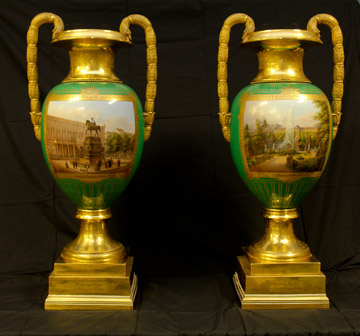 Prussian vases, around 1860 JEFF-2016 and JEFF-2017