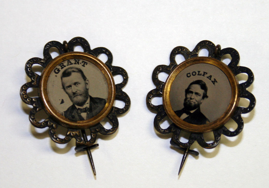 Grant and Colfax campaign buttons