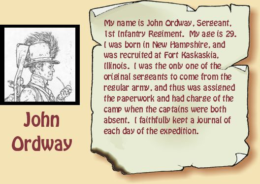 Drawing of John Ordway