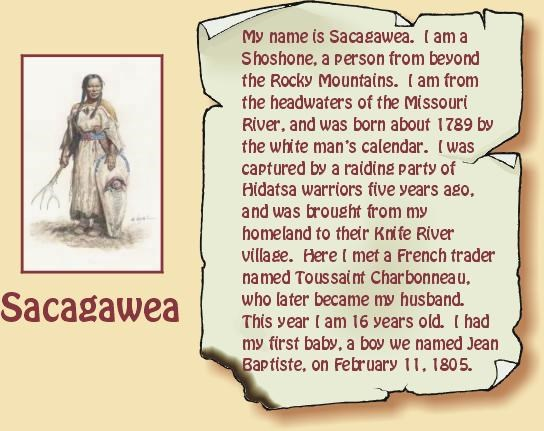 Image of Sacagawea by Michael Haynes