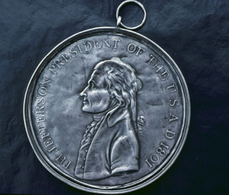 Jefferson Peace Medal, obverse