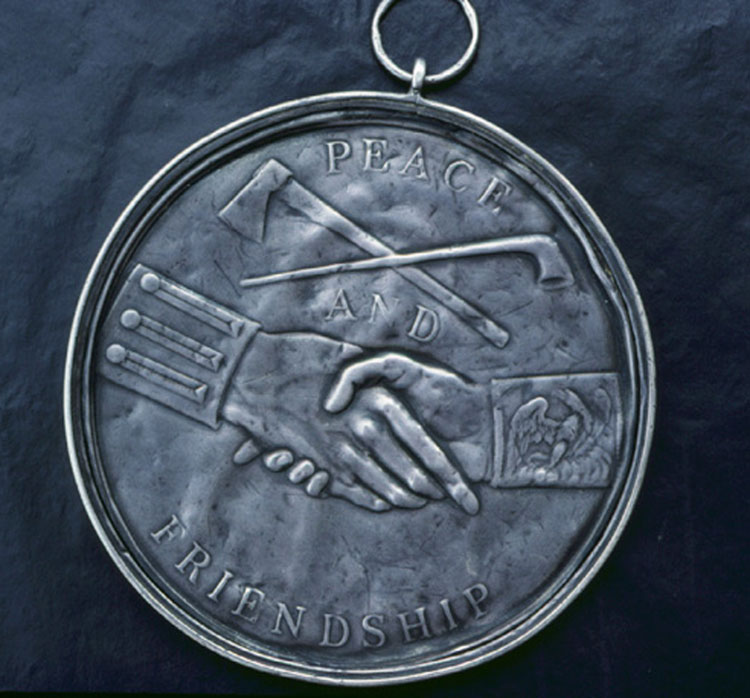 Jefferson Peace Medal, reverse