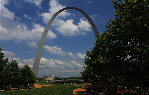 New West Entrance to the Gateway Arch