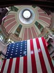 rotunda flag old courthouse