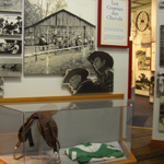 Image of exhibit about cowboys in Cajun country