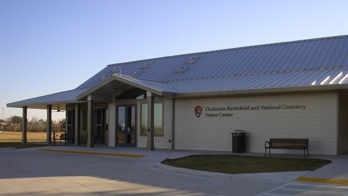 Image of Chalmette Battlefield Visitor Center exterior