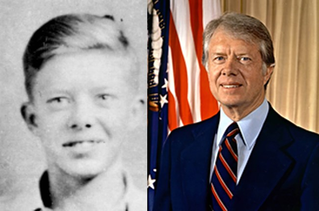 Image result for young jimmy carter pictures