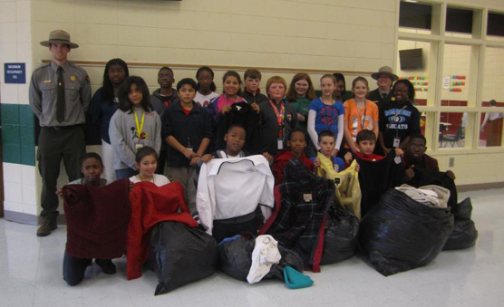2012 Winter Coat Drive delivery to Webster County.