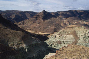 Image of the Blue Basin trail area.