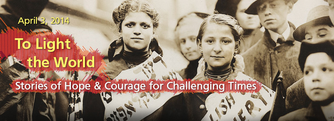 JFK2014WebBannerOp2 To Light the World: Stories of Hope & Courage for Challenging Times Conference at JFK Library