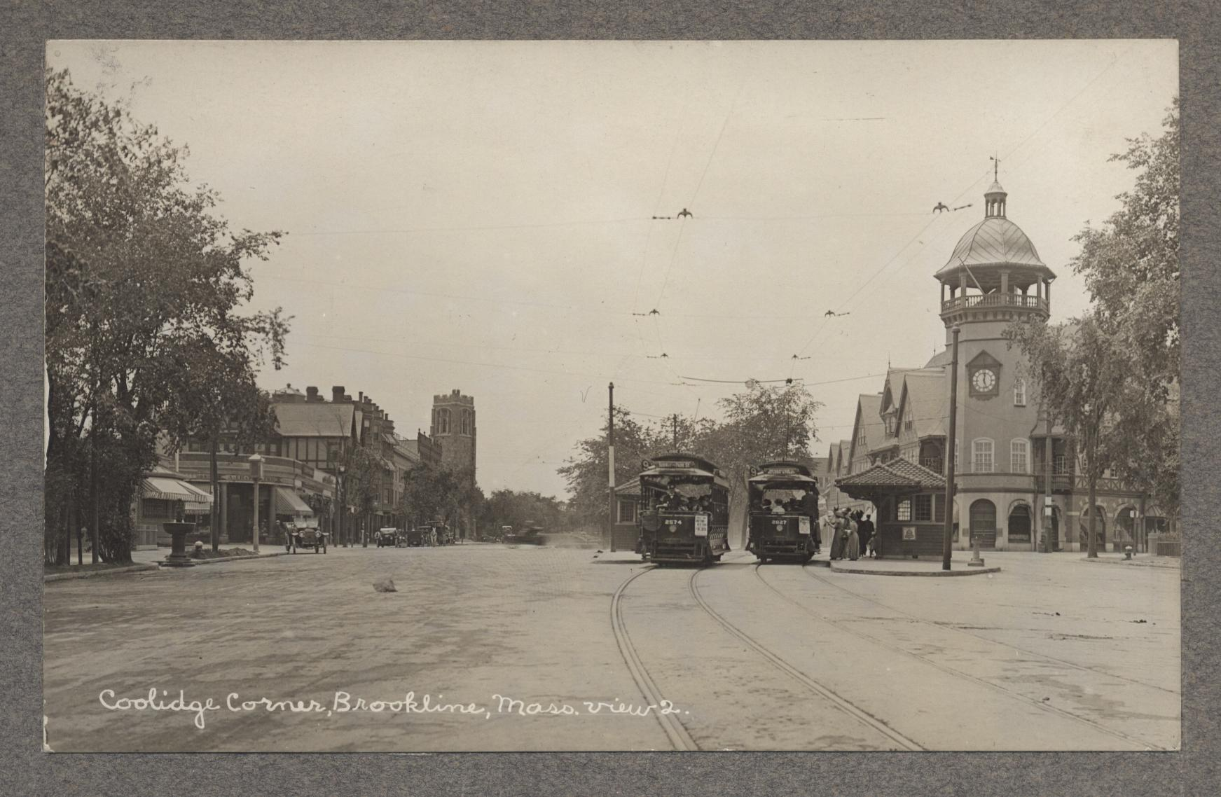 FRLA photo album 1310-51 Coolidge Corner c1915