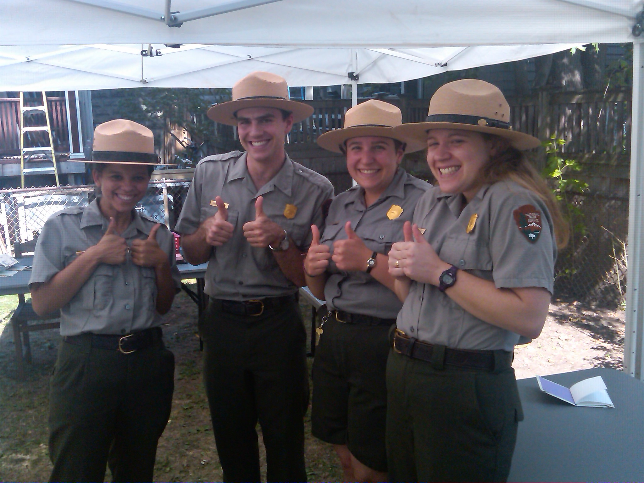 Rangers give Founder's Day Two Thumbs up!