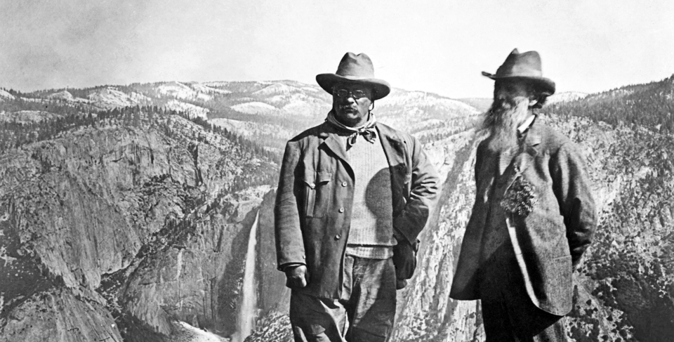 Image result for picture of john muir and teddy roosevelt