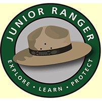A drawing of a junior Ranger hat