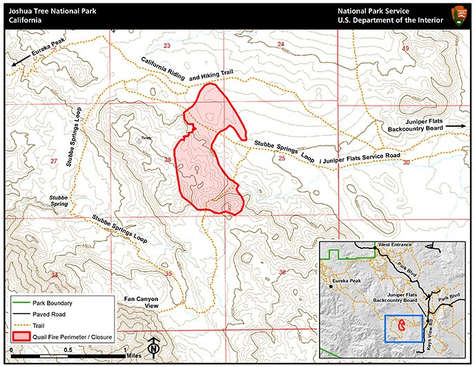 Quail Fire Map