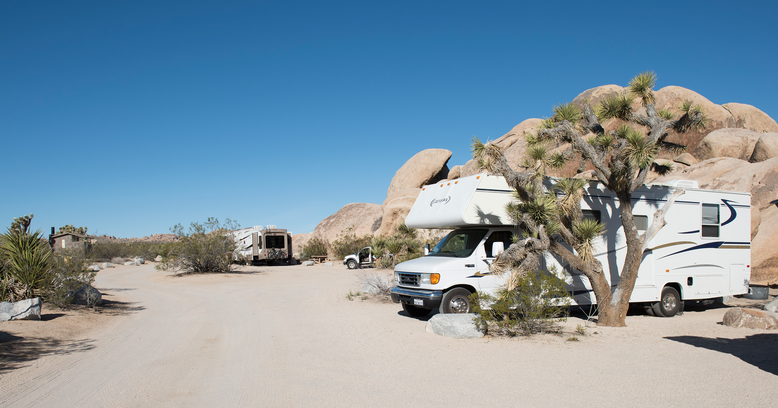 belle campground - joshua tree national park (u.s. national park
