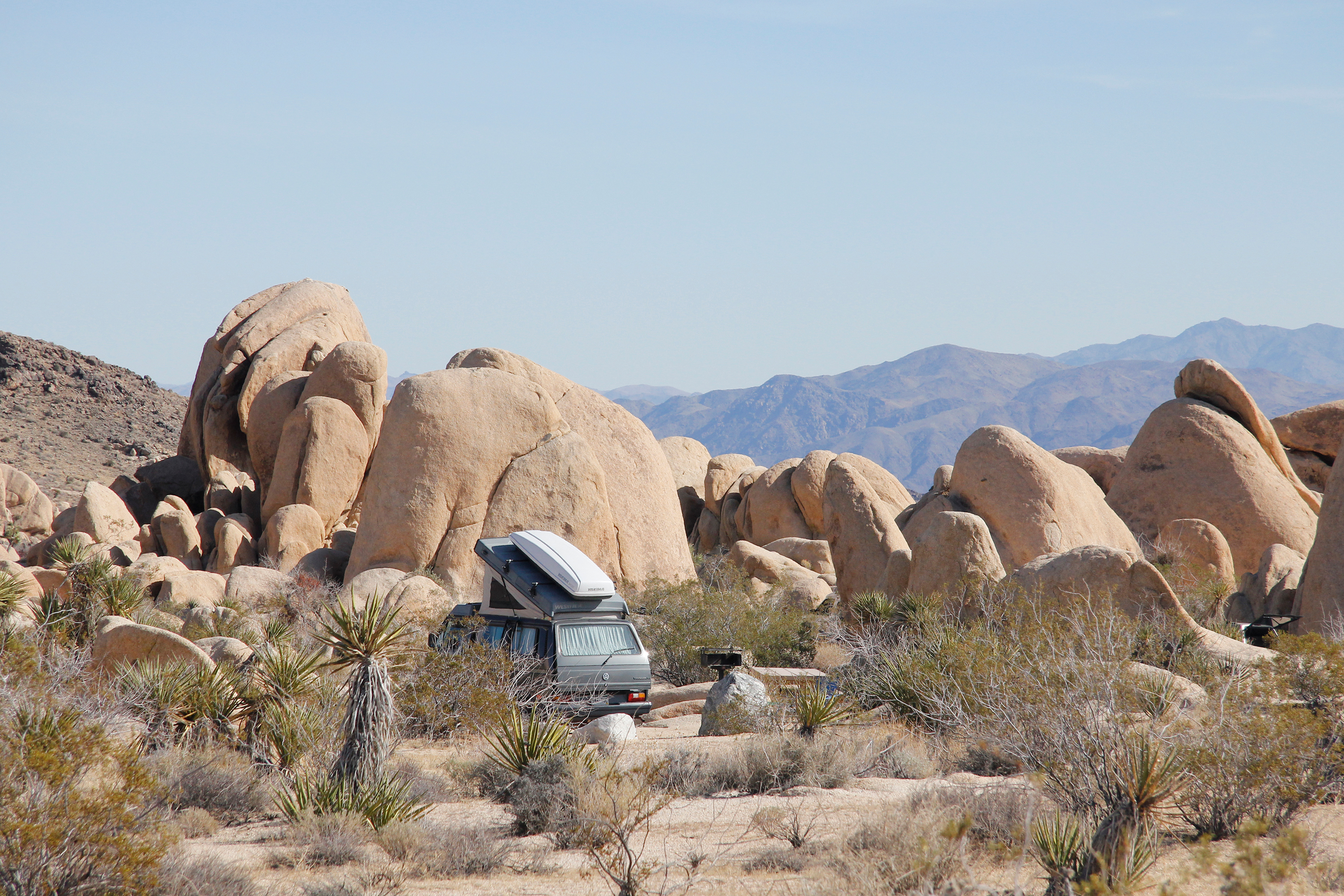 white tank campground - joshua tree national park (u.s. national