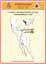 Cover of Anza Trail Guide book