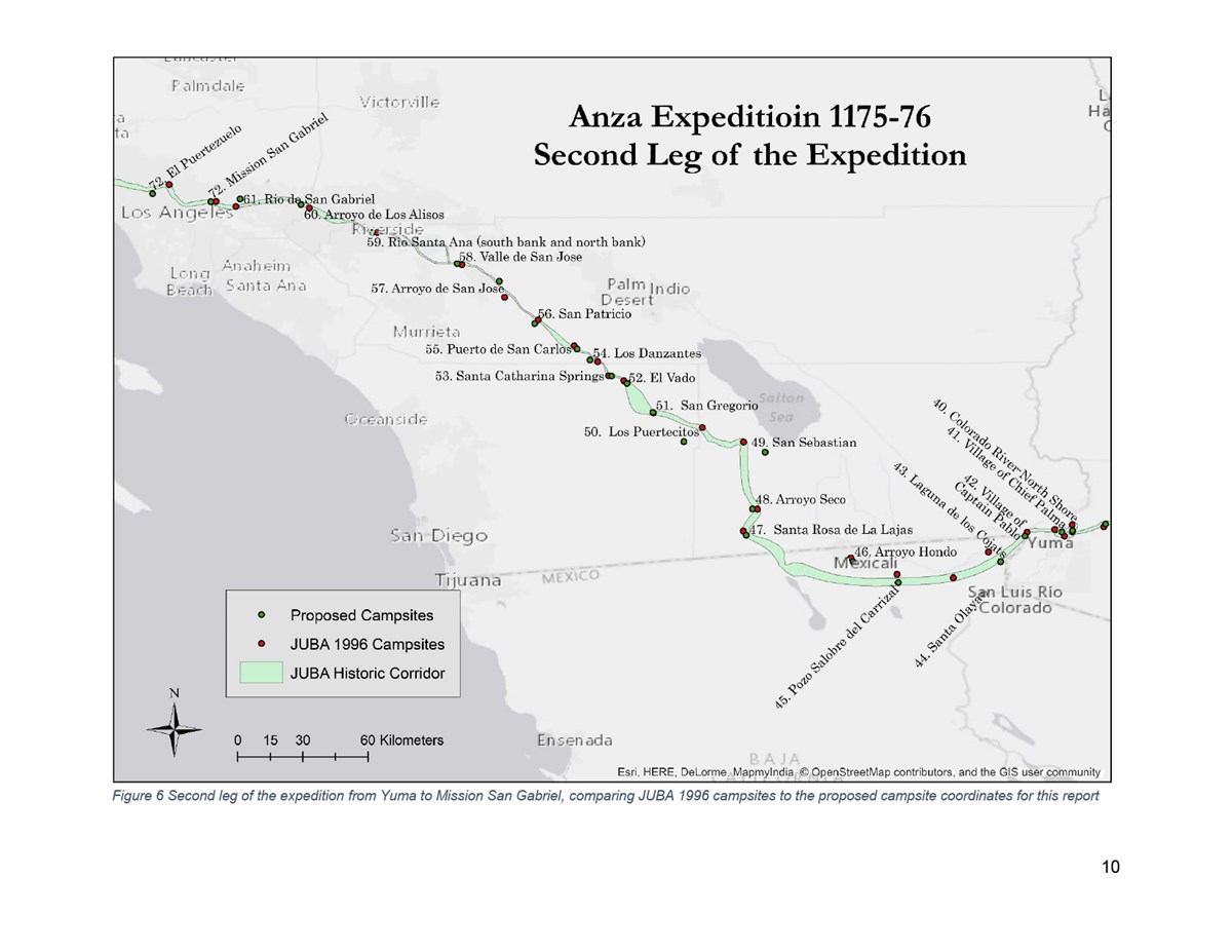 Map of the Second Leg of the Expedition