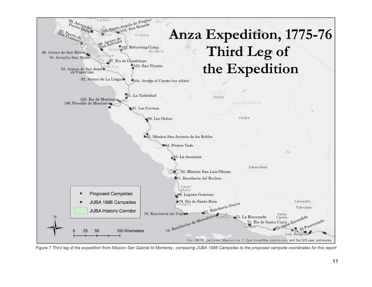 Map of Third Leg of the Expedition