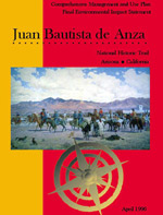 Cover of Anza Trail 1996 Comprehensive Management and Use Plan
