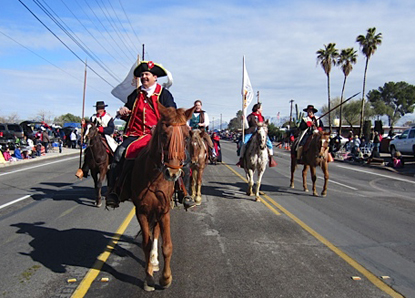 Anza Trail Volunteers at Tucson Rodeo Parade