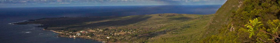 View of the Kalaupapa Peninsula