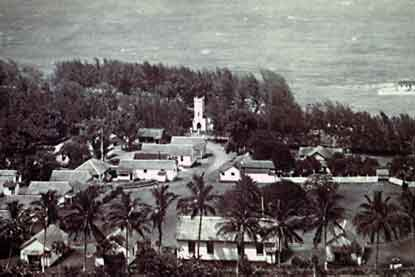 Early picture of Kalawao.