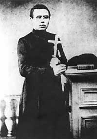 Joseph De Veuster, or, as he is best known, Father Damien.