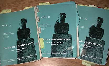 Report covers, the 1977 Building Inventory.