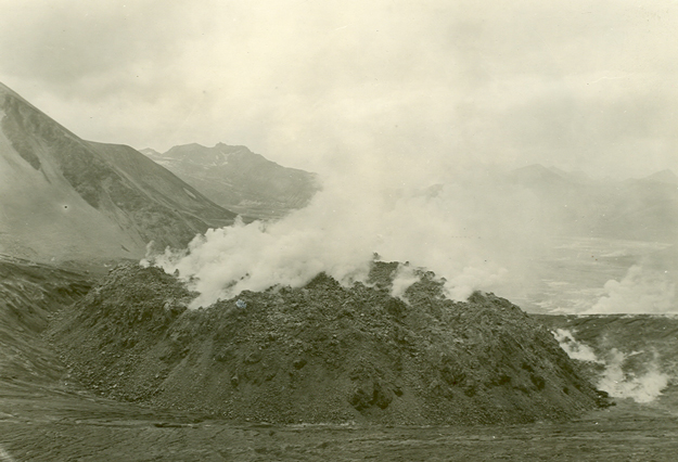 Geologists in the 1950s discovered that the volcanic vent at Novarupta was the explosive heart of the 1912 eruption.