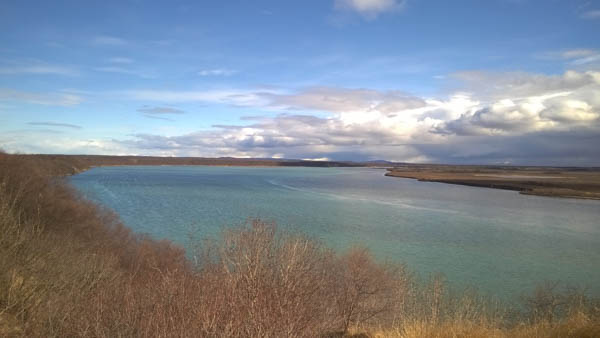 The Naknek River from Paradise Point