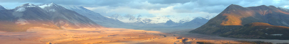 The Valley of Ten Thousand Smokes at Sunset, from the Griggs Visitor Center