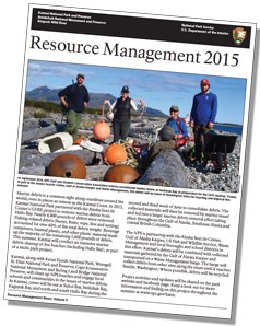 Page one of 2015 resource management newsletter