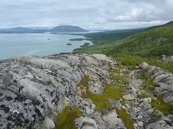 Iliuk-Arm-of-Naknek-Lake-seen-from-south-slope-of-Mount-La Gorce