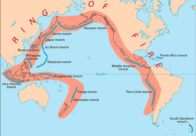 Volcanoes Katmai National Park Preserve US National Park - Map of us volcanoes