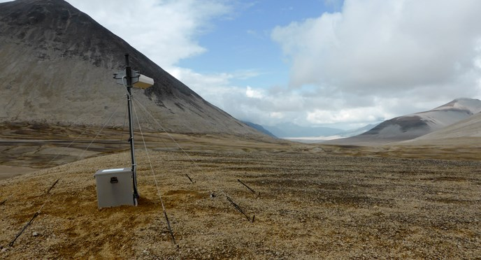 Seismic Station in Katmai Pass