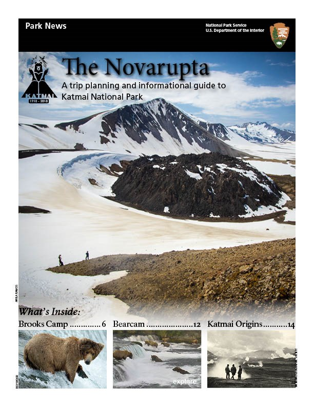 Cover of The Novarupta park newspaper