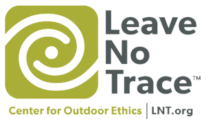 Leave No Trace Logo and tagline