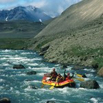 Rafters run The Gates of the Aniakchak River