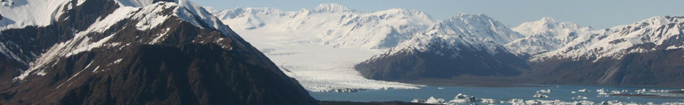 Glacier in Kenai Fjords National Park