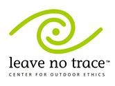 Logo for Leave No Trace, Center for Outdoor Ethics.