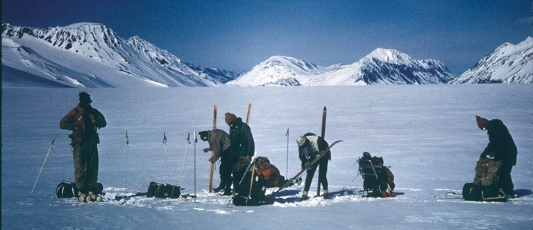 1968 traverse of the Harding Icefield.