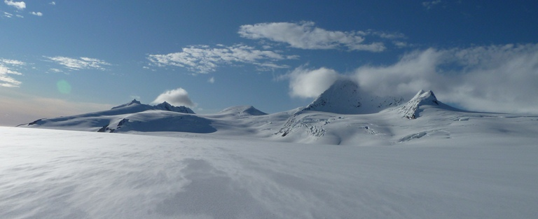 View of Harding Icefield.