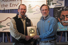 Park and RBCA staff accept Coastal America Spirit Award
