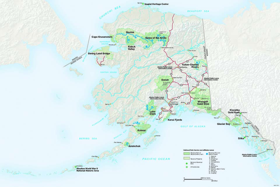 Seward Alaska Storage Units Maps Kenai Fjords National