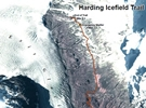 Harding Icefield Trail Map