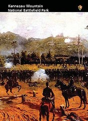 Card Image: The Battle of Kennesaw Mountain