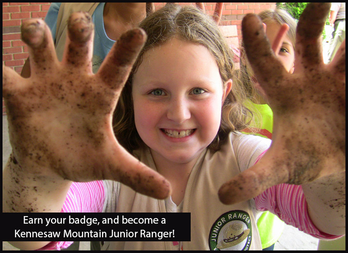 Be a Kennesaw Mountain Junior Ranger!